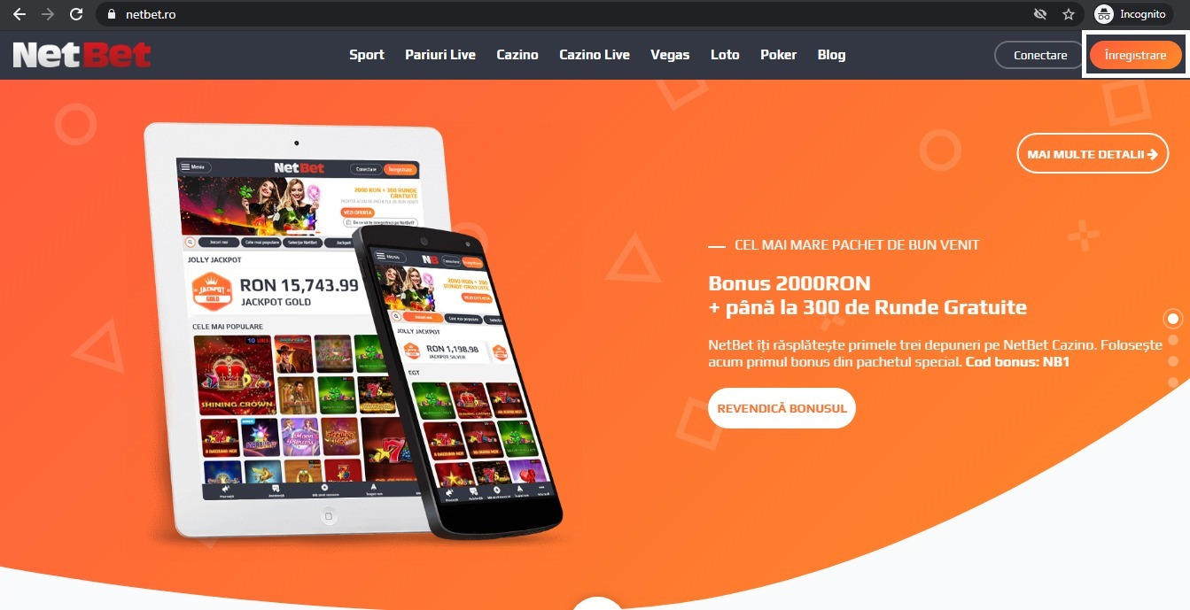 cazinou mobil Netbet